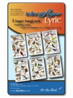 Identiflyer Lyric Super SongCard Set 3