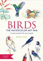 Birds:The Watercolor Art Pad