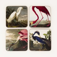 Audubon Birds Coaster Set
