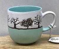 Trees Ceramic Cup