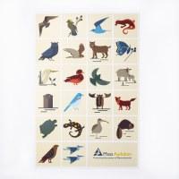Mass Audubon Icons Print