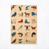 Mass Audubon Icons Wooden Sign