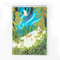 Animals in Snow Holiday Cards