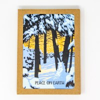 Winter Woods Holiday Cards