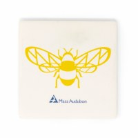 Bee Mass Audubon Coaster