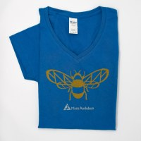 Mass Audubon Bee Ladies Tee