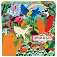 Busy Meadow 64-Piece Puzzle