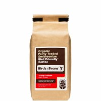 Birds & Beans Scarlet Tanager  Coffee Ground