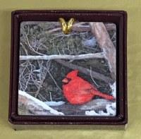 Cardinal Marble Tile Ornament