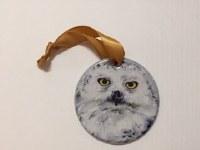 Ornament Snowy Owl