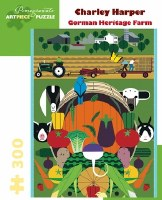 Charley Harper:  Gorman Heritage Farm Puzzle