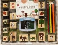 Woodland Stamp & Sticker Set