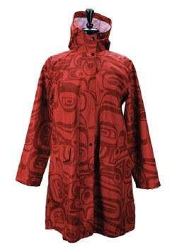 Red Rain Coat S-M