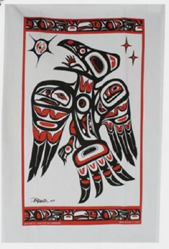 Tea Towel - Raven