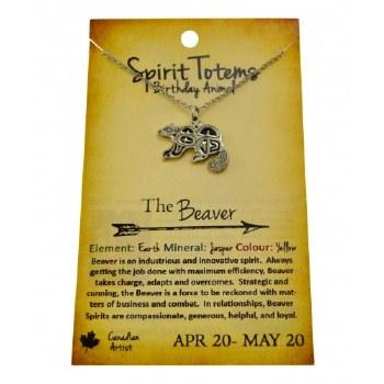 Spirt Totem Beaver - Apr 20 - May 20