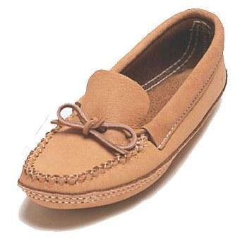 Men's moosehide moccasins - size 9