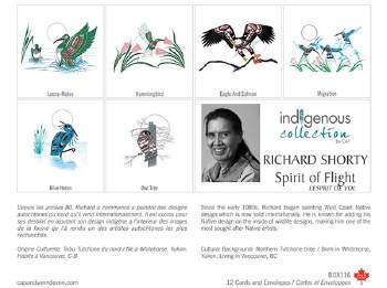 Richard Shorty Boxed Card Set - Spirit of Flight