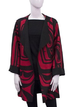 Haida Overcoat - Red