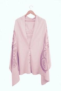 Spirit Shawl - Pink Bear
