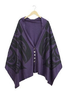 Spirit Shawl - Purple Raven