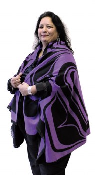 Cape - Eagle - Purple