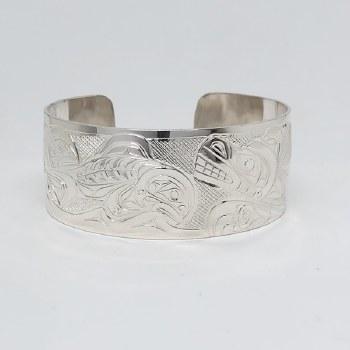 Bear & Salmon Bracelet
