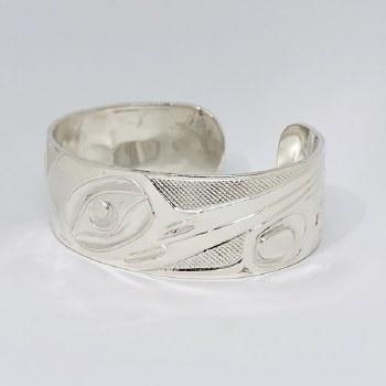 "3/4"" Hummingbird Sterling Silver Bracelet"