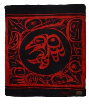 Raven Velura Fleece Blanket