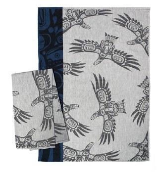 Jacquard Tea Towel - Soaring Eagle