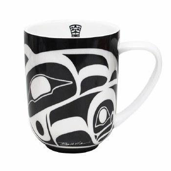 Raven Porcelain Mug