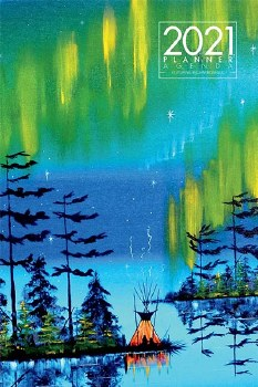 Weekly Planner - Northern Lights