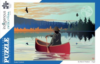 Puzzle - 1000 Piece - Lone Canoe