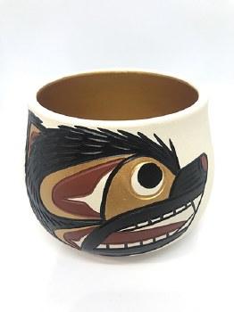 Bear Ceramic Pot