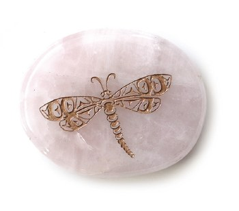 Rose Quartz - Dragonfly - Unconditional Love