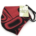 Cotton Face Mask - Red