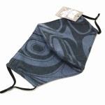 Cotton Face Mask - Denim Blue