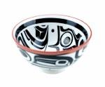 Porcelain Bowl Med - Raven