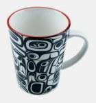 Porcelain Mug - Raven
