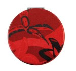 Red Hummingbird Compact Mirror