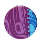 Purple Raven Mirror