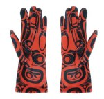 Gloves Raven - Red S-M
