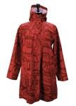 Red Rain Coat L-XL