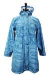Turquoise Rain Coat S-M