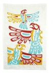 Eagle Tea Towel