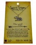 Spirit Totem Wolf - Feb 19 - Mar 20