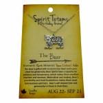 Spirit Totem Bear - Aug 22 - Sept 21