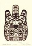 Haida Beaver - Ttsaang Card
