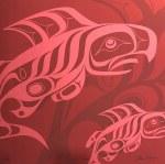 Coral Salmon Giclee #