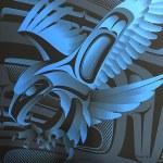 Eagle Blue Giclee #
