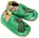 Baby Soft Sole Shoes Frog